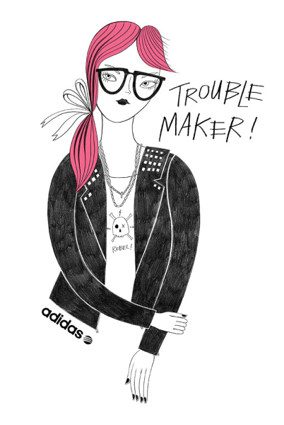 Trouble Maker for Adidas